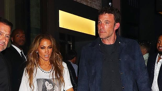 Jennifer Lopez & Ben Affleck Beam As They Hold Hands Backstage At The Global Citizen Concert – Photos