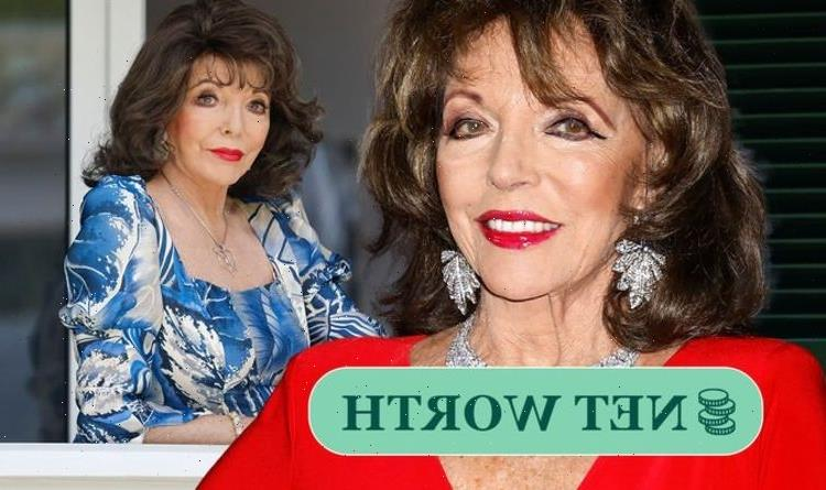Joan Collins net worth: Dynasty actress has multi-million pound fortune – and four homes