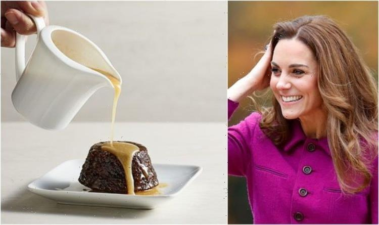 Kate Middleton's 'favourite' dessert sticky toffee pudding – how to make