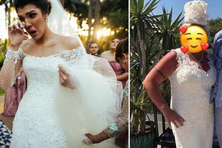 Mother-of-the-groom sparks outrage by wearing white gown and fascinator to the wedding… and now she's trying to sell it