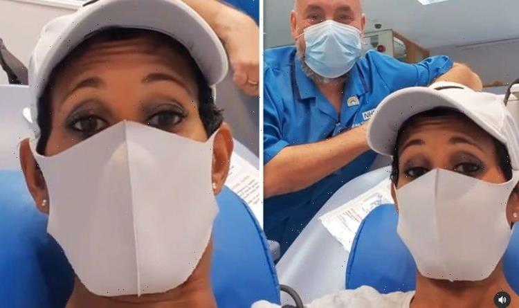 Naga Munchetty posts hospital video as she urges fans to undergo procedure to 'save lives'