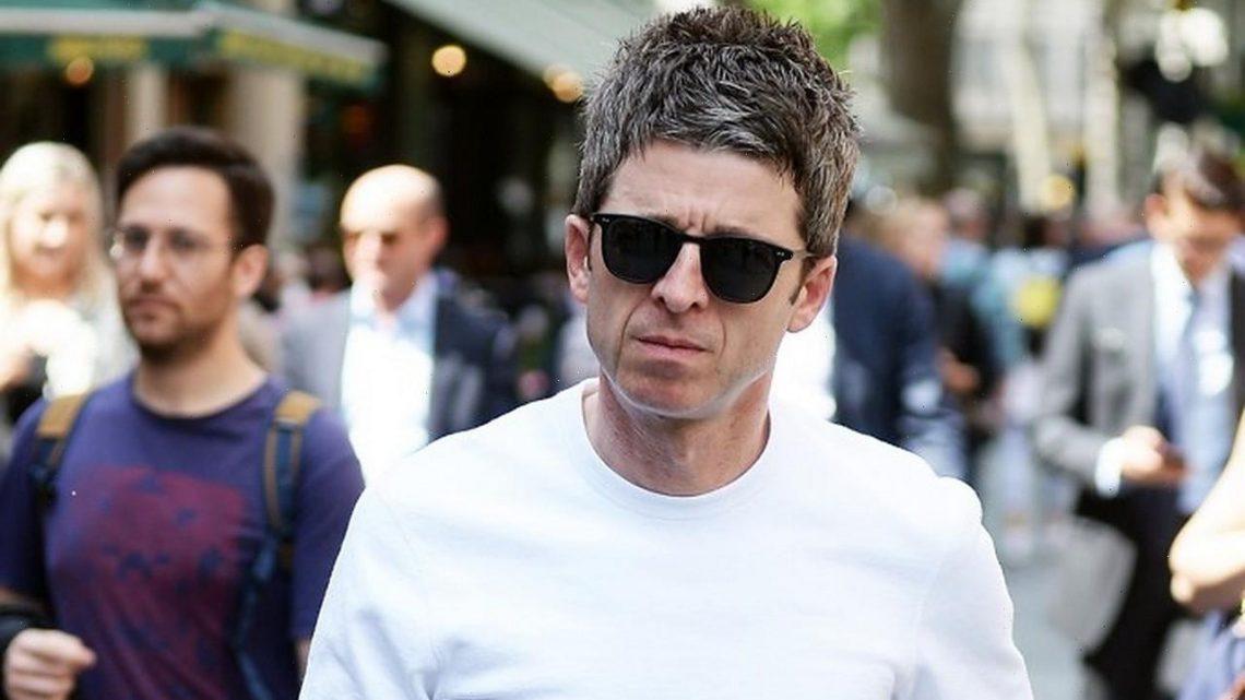 Noel Gallagher Spent Lockdown Doing DIY Decorations