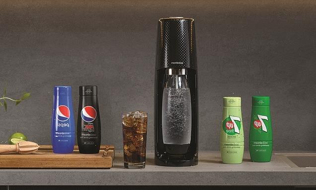 Pepsi and 7Up launch SodaStream flavours