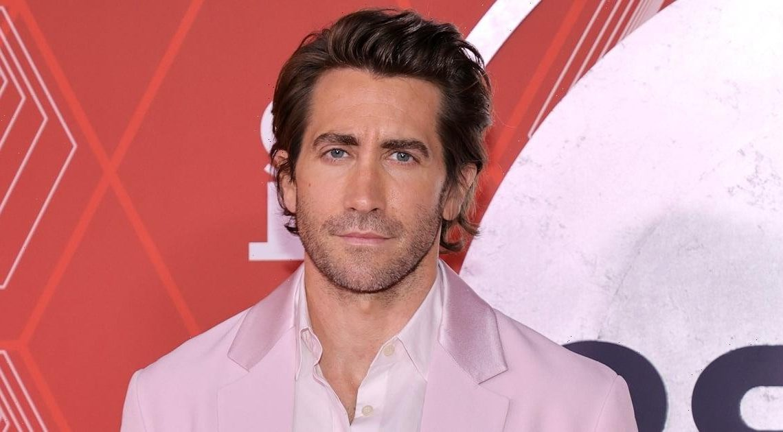 Prepare to Fall in Love With Jake Gyllenhaal and His Pale Pink Prada Tuxedo