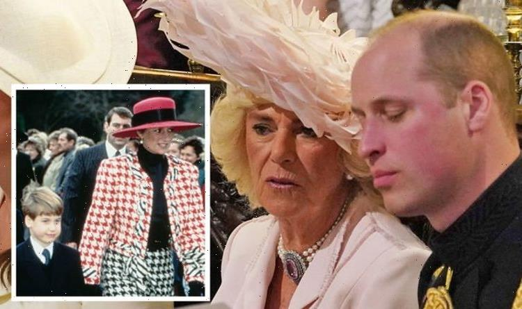 Prince William body language with Camilla is 'polite' as 'loyalty to Diana' remains