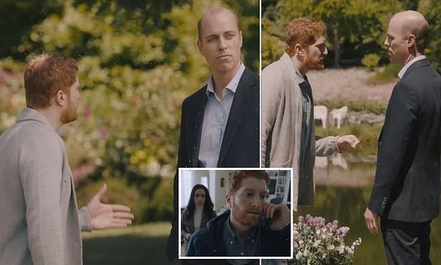 Prince William is villain for 'not speaking on racism' in new TV film