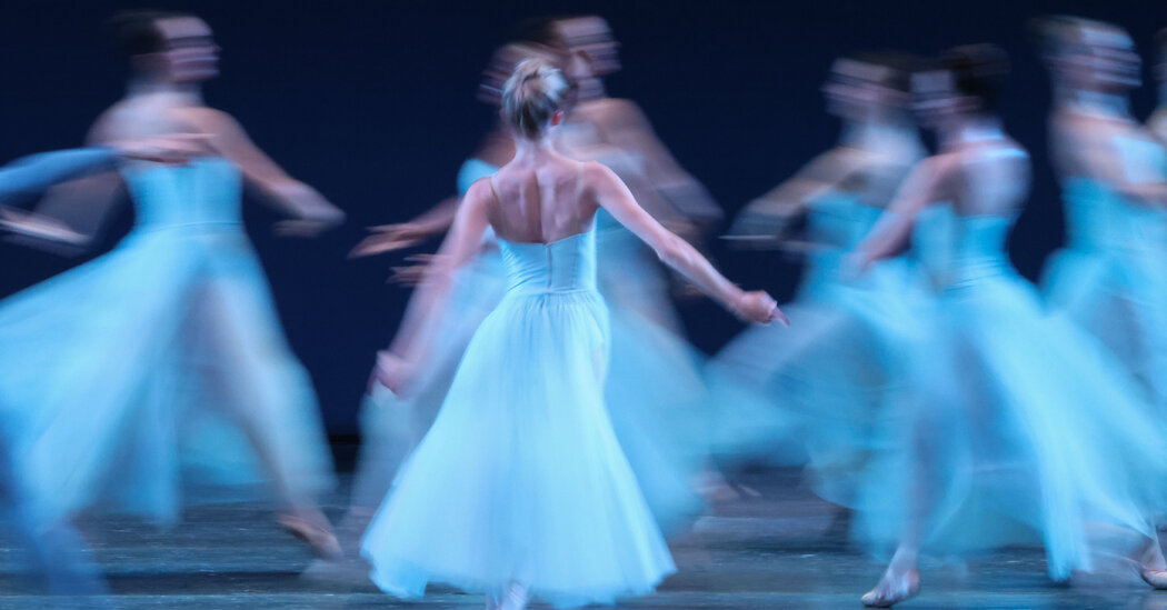 Review: With Balanchine and Confetti, City Ballet Is Back