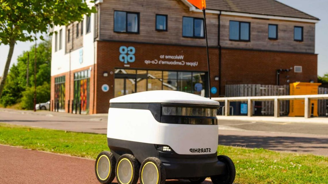 Robots will soon deliver groceries nationwide after Co-op's successful pilot scheme