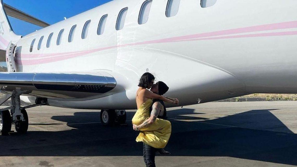 Travis Barker Says He 'Never Considered Flying Again' Until Kourtney Kardashian