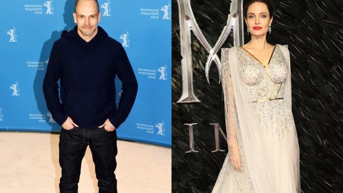 Angelina Jolie and Ex-Husband Jonny Lee Miller Driving Home Together After Dinner Date