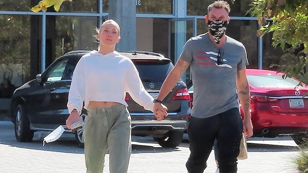 Brian Austin Green & Sharna Burgess Hold Hands While Out & About After 'DWTS' Elimination