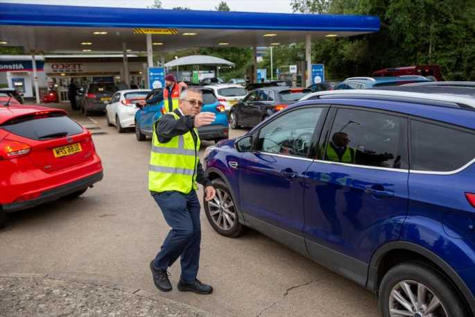 Petrol prices set to jump 3p per litre next week as fuel crisis continues