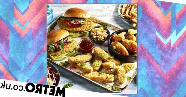 Quorn has a new takeaway range – featuring wings, burgers and strips