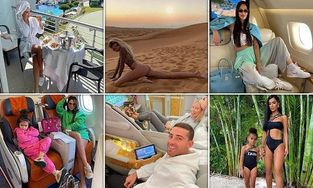 Rich Kids of Instagram tackle end of summer blues with private jets
