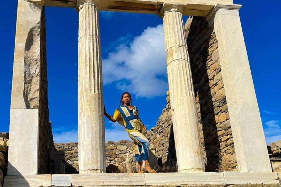 Site Seeing: Naomi Osaka Is Currently Living Her Best Life In Greece