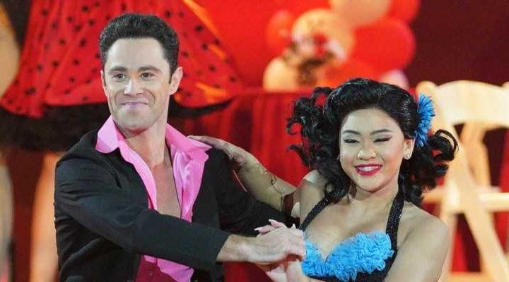 Suni Lee & Sasha Farber Do The Hand Jive On 'Dancing With The Stars' 'Grease' Night – Watch Now!