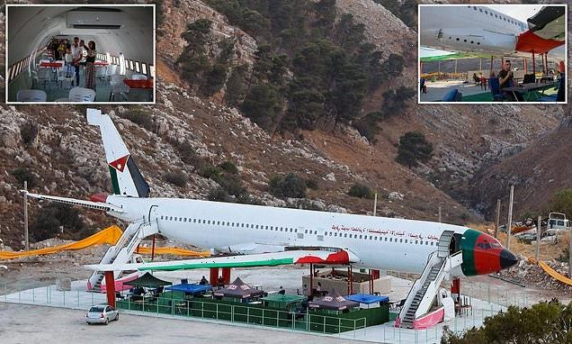 The Boeing 707 in the West Bank that's now a RESTAURANT